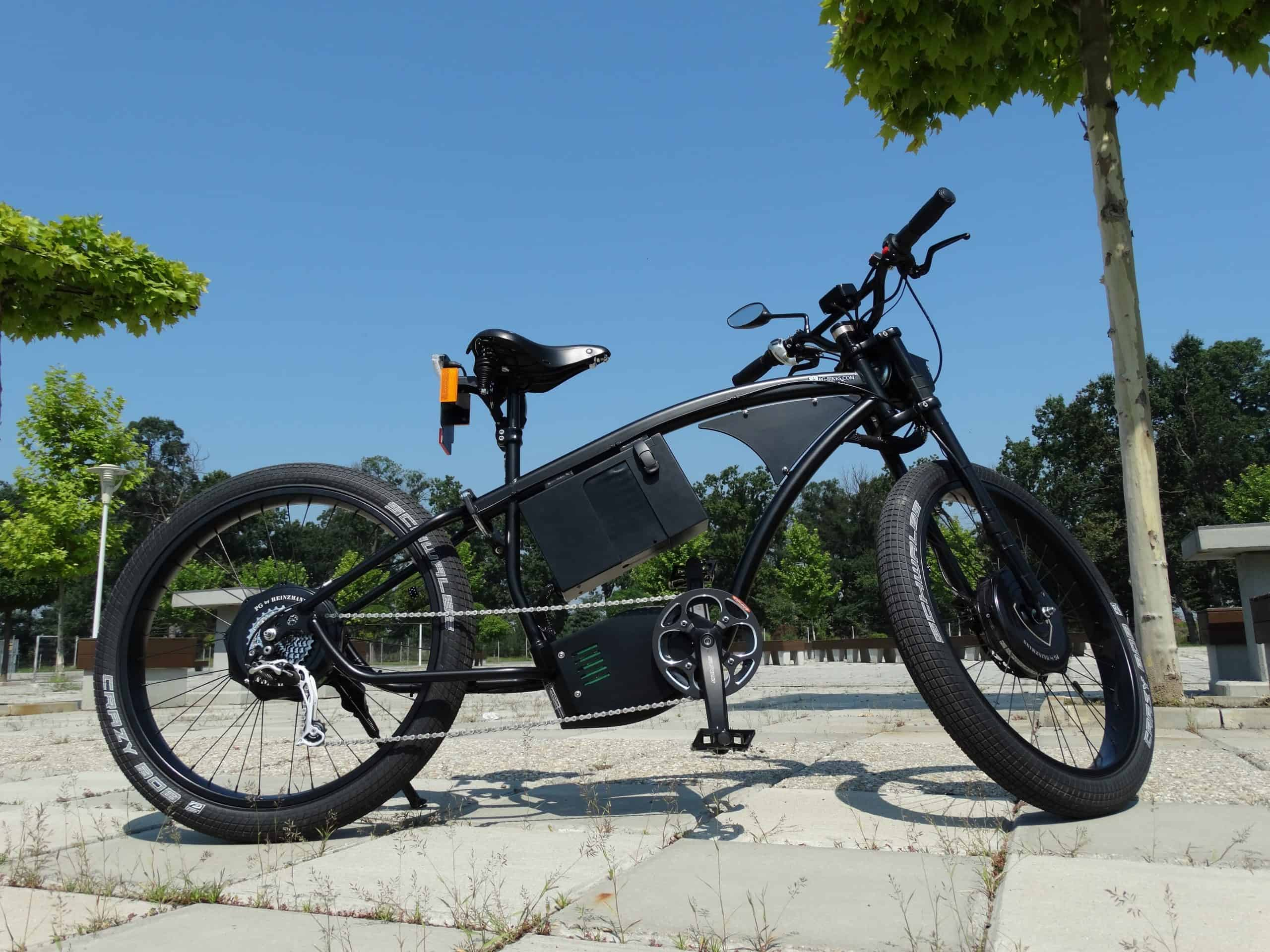 how to select motor for electric bike